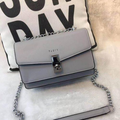 JT62632-gray Tas Selempang Wanita Cantik Import Terbaru
