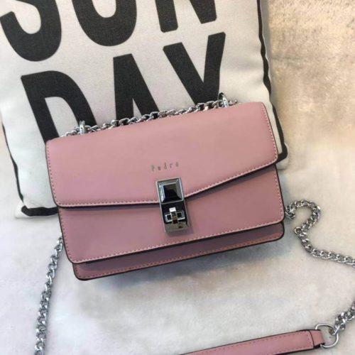 JT62632-pink Tas Selempang Wanita Cantik Import Terbaru