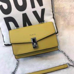 JT62632-yellow Tas Selempang Wanita Cantik Import Terbaru