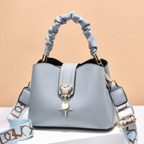 JT62871-blue Tas Handbag Selempang Wanita Elegan Import Terbaru