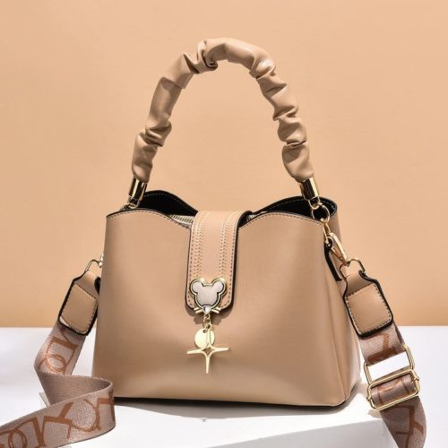 JT62871-darkkhaki Tas Handbag Selempang Wanita Elegan Import Terbaru