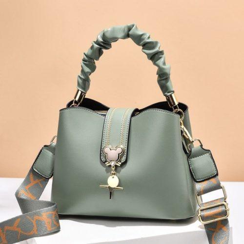 JT62871-green Tas Handbag Selempang Wanita Elegan Import Terbaru