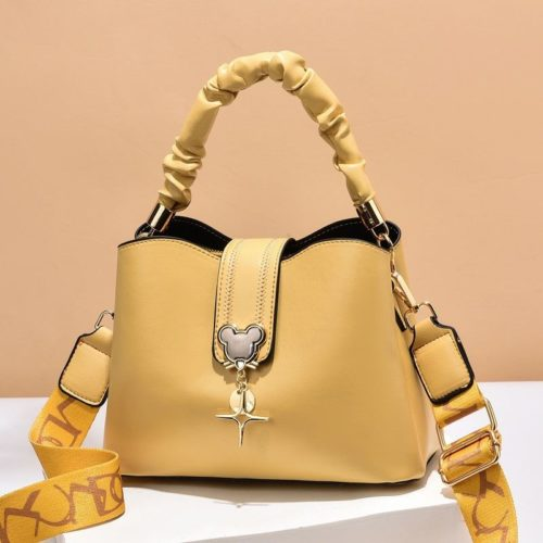 JT62871-yellow Tas Handbag Selempang Wanita Elegan Import Terbaru