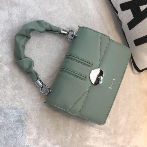 JT63073-green Tas Handbag Import Wanita Cantik Terbaru