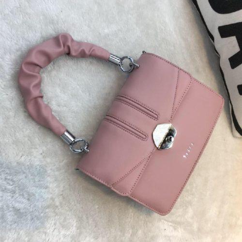 JT63073-pink Tas Handbag Import Wanita Cantik Terbaru