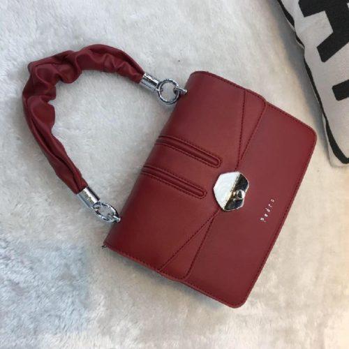 JT63073-red Tas Handbag Import Wanita Cantik Terbaru