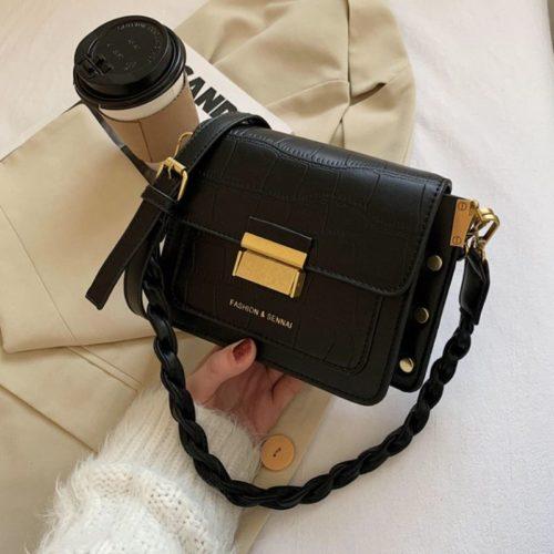 JT64300-black Tas Fashion Import Wanita Cantik Terbaru