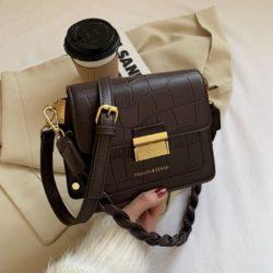JT64300-coffee Tas Fashion Import Wanita Cantik Terbaru