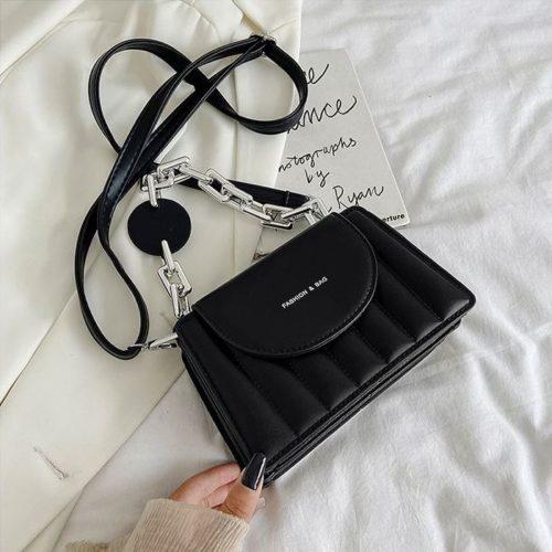 JT6494-black Tas Selempang Fashion Wanita Elegan Import