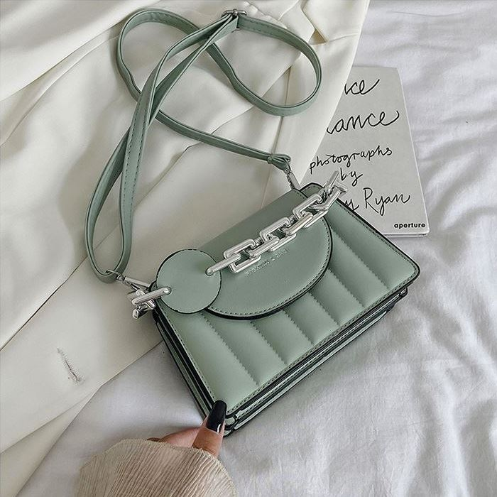 JT6494 IDR.178.000 MATERIAL PU SIZE L20XH13XW8CM WEIGHT 430GR COLOR GREEN