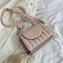 JT6494-pink Tas Selempang Fashion Wanita Elegan Import