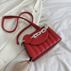 JT6494-red Tas Selempang Fashion Wanita Elegan Import