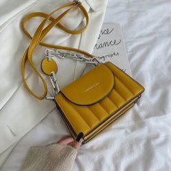 JT6494-yellow Tas Selempang Fashion Wanita Elegan Import