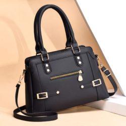 JT6603-black Tas handbag Pesta Wanita Elegan
