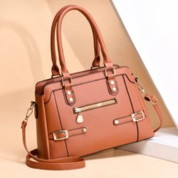 JT6603-brown Tas handbag Pesta Wanita Elegan