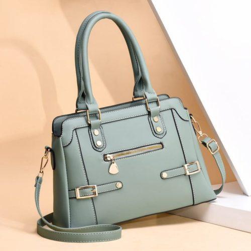 JT6603-khaki Tas handbag Pesta Wanita Elegan