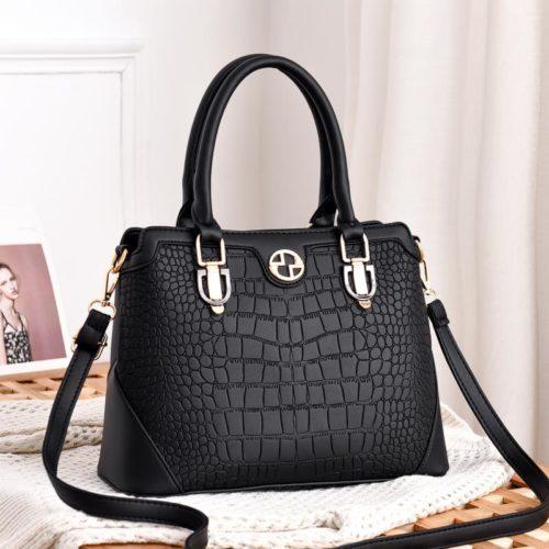 JT6612-black Tas Selempang Handbag Import Wanita Cantik