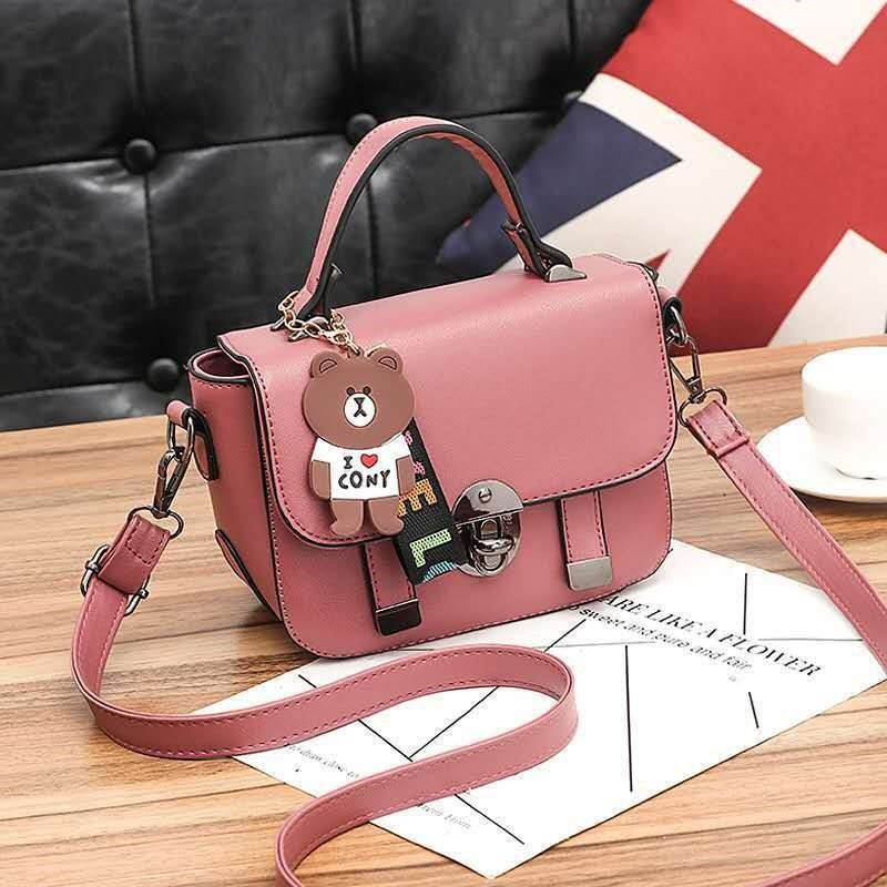 JT6616 IDR.157.000 MATERIAL PU SIZE L20XH16XW9CM WEIGHT 550GR COLOR DARKPINK