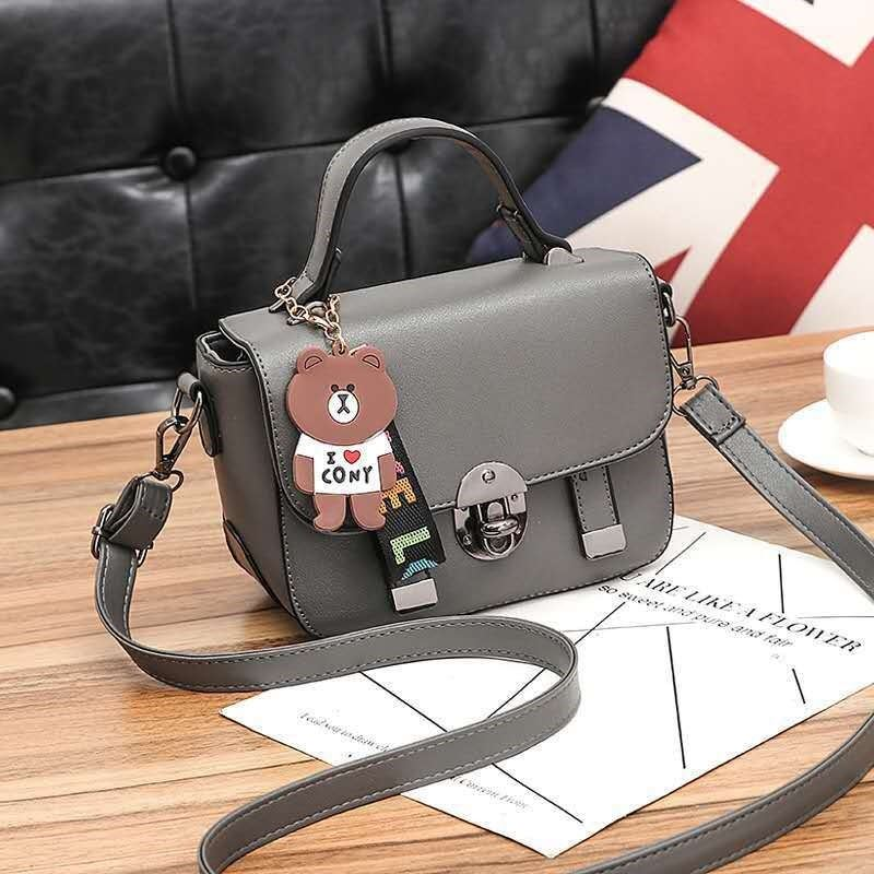 JT6616 IDR.157.000 MATERIAL PU SIZE L20XH16XW9CM WEIGHT 550GR COLOR GRAY