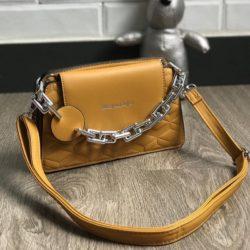 JT6622-yellow Tas Selempang Model Chain Import Terbaru