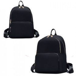 JT6625-black Tas Ransel Wanita Stylish Modis Import Terbaru