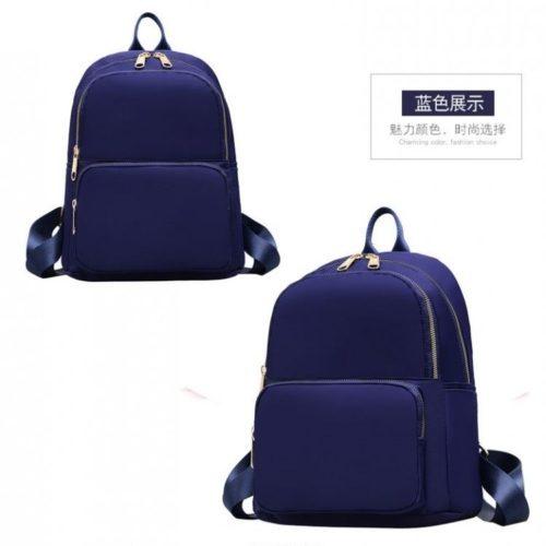 JT6625-blue Tas Ransel Wanita Stylish Modis Import Terbaru