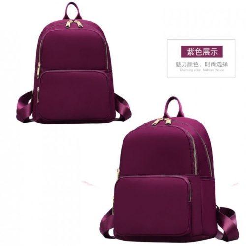 JT6625-purple Tas Ransel Wanita Stylish Modis Import Terbaru