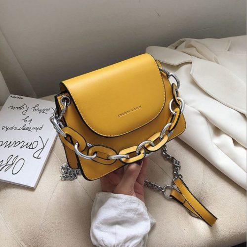 JT66501-yellow Tas Selempang Wanita Cantik Modis Terbaru