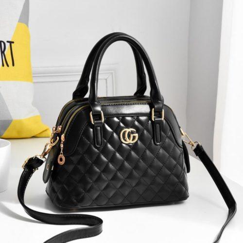 JT6661-black Tas Handbag Pesta Elegan Import Terbaru