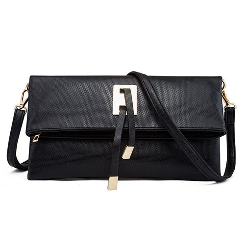 JT66618 IDR.135.000 MATERIAL PU SIZE L27XH15XW1.5CM WEIGHT 600GR COLOR BLACK