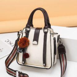 JT68221-beige Tas Selempang Fashion Modis Wanita Cantik Import