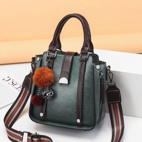 JT68221-darkgreen Tas Selempang Fashion Modis Wanita Cantik Import