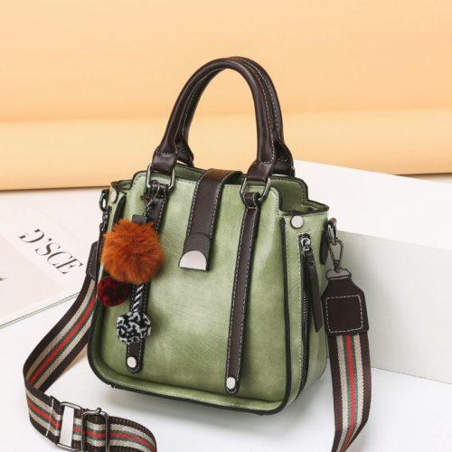 JT68221-lightgreen Tas Selempang Fashion Modis Wanita Cantik Import