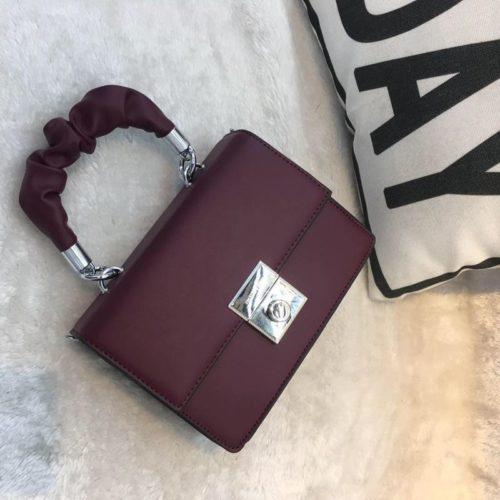 JT68956-wine Tas Selempang Handbag Wanita Cantik Terbaru