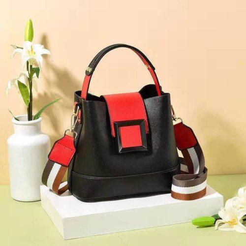 JT7008-black Tas Selempang Handbag Fashion Modis Wanita Terbaru