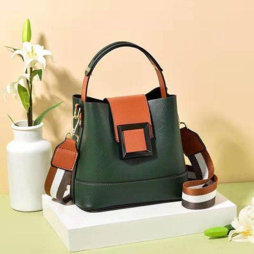 JT7008-green Tas Selempang Handbag Fashion Modis Wanita Terbaru