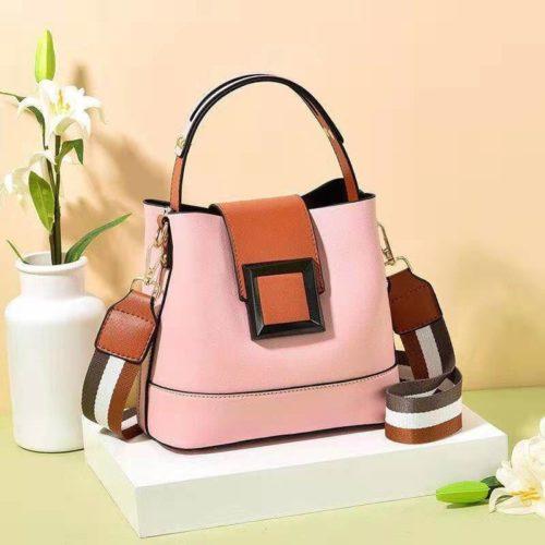 JT7008-pink Tas Selempang Handbag Fashion Modis Wanita Terbaru
