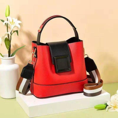 JT7008-red Tas Selempang Handbag Fashion Modis Wanita Terbaru