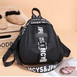 JT7030-black Tas Ransel Fashion Stylish Terbaru Wanita