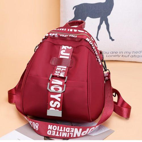 JT7030-red Tas Ransel Fashion Stylish Terbaru Wanita