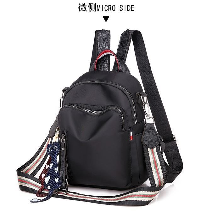 JT7034 IDR.140.000 MATERIAL OXFORD SIZE L19XH22XW9CM WEIGHT 450GR COLOR BLACK
