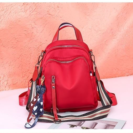JT7034 IDR.140.000 MATERIAL OXFORD SIZE L19XH22XW9CM WEIGHT 450GR COLOR RED