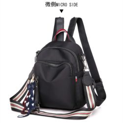 JT7034 IDR.148.000 MATERIAL OXFORD SIZE L19XH22XW9CM WEIGHT 330GR COLOR BLACK
