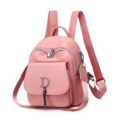 JT7106-pink Tas Ransel Mini Wanita Cantik Import Terbaru