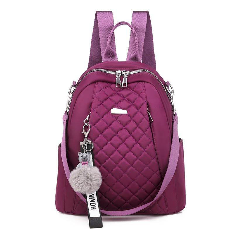JT7113 IDR.145.000 MATERIAL OXFORD SIZE L26XH30XW11CM WEIGHT 550GR COLOR PURPLE