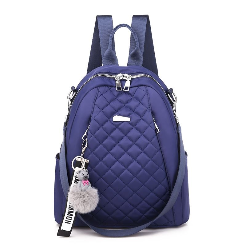 JT7113 IDR.155.000 MATERIAL OXFORD SIZE L26XH30XW11CM WEIGHT 550GR COLOR BLUE