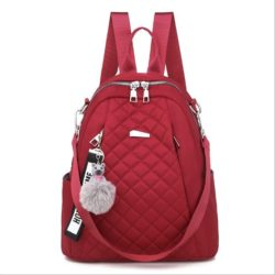 JT7113 IDR.155.000 MATERIAL OXFORD SIZE L26XH30XW11CM WEIGHT 550GR COLOR RED