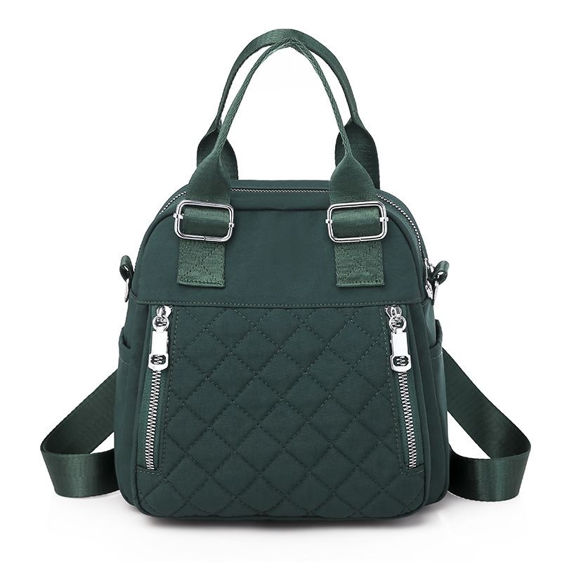 JT7131 IDR.162.000 MATERIAL OXFORD SIZE L24XH23XW11CM WEIGHT 500GR COLOR GREEN
