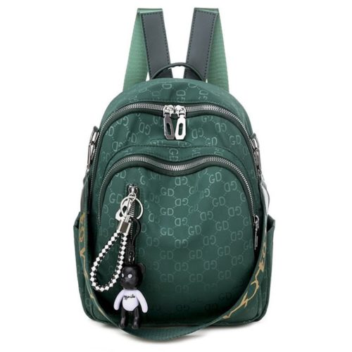 JT7157-green Tas Ransel GD Wanita Fashion Cantik Terbaru