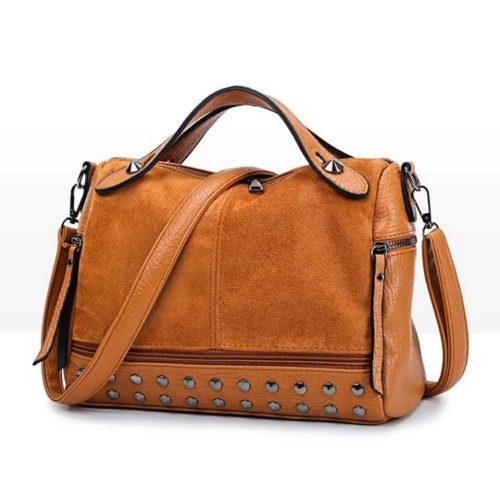JT7205-brown Tas Selempang Handbag Fashion Modis Import Terbaru